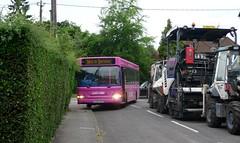 Park and ride again (bobsmithgl100) Tags: 2 bus pointer surrey dennis dart slf chobham plaxton dxd route417 deltaroad 34855 gx06 stagecoachhantssurrey gx06dxd