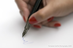 Signing... (Fernando Delfim Photography) Tags: pen hand montblanc wrinting