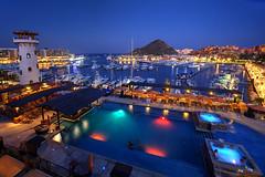 Resort Life (hapulcu) Tags: bajacalifornia cabosanlucas bluehour bcs baja mexico mexique desert marina resort