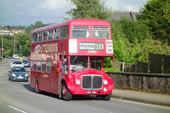 Chepstow Vintage (Dave Roberts3) Tags: gwent monmouthshire wales chepstow bus red aec renown coth supershot