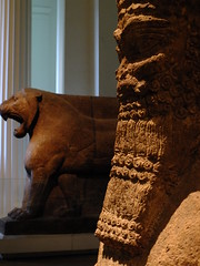 Attendant God (failing_angel) Tags: 191215 london camden bloomsbury britishmuseum attendantgod assyrian nimrud templeofnabu godofwriting adadnirariiii sammuramat semiramis