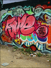 Fare (Alex Ellison) Tags: fare cbm westlondon trellicktower halloffame hof urban graffiti graff boobs