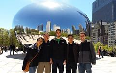 Bean Group Photo (uhhey) Tags: chicago bean myra hans sebastian kevin stephen
