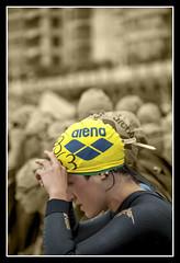 TRIATHLON - Donostia 2014 (MONTXO-DONOSTIA) Tags: triathlon soledad duotono deporte kirolak emocion nervios sport montxodonostia