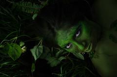 green (gangela22) Tags: green mothernature wrath black eyes supernatural fantasy fairy nymph spirit