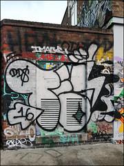 Teach (Alex Ellison) Tags: teach dds throwup throwie hackneywick eastlondon urban graffiti graff boobs