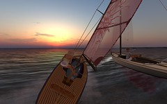 FJ2016 @ NYC - Ellion resists Viv's attacks (vivipezz) Tags: secondlife sailing sl nyc nantucket shields q2m bandit if