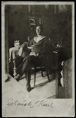 Archiv H633 Karl Polaek, WWI, sterreich-Ungarn, 25. Juli 1917 (Hans-Michael Tappen) Tags: archivhansmichaeltappen karlpolaek matrose wwi kuk matrosenanzug zimmereinrichtung interieur uhr schmuck inneneinrichtung 19141918 1917