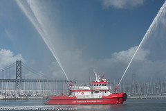 Pier 46 New SFFD Fire Boat St Francis 10-2016 (daver6sf@yahoo.com) Tags: portofsanfrancisco sffd fireboat pier46 p46