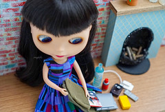 Blythe a Day 14 November 2016 - What's in your bag?