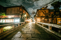 Night Kyoto (Dmitry_Pimenov) Tags: kyoto old city cityscape night japan japanese travel trip culture asia ancient historic history dark urban dipimenov dmitrypimenov дмитрийпименов япония киото fujifilmxt1 fujifilm