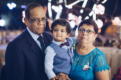 Bubs & The Grandparents (Lovell D'souza) Tags: baby bowtie boy bubs goa grandfather grandmother grandparents grandson jacob justing lepoo mama man papa suit wedding woman