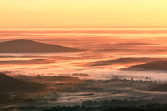 Illuminated (Vladimir Grablev) Tags: view lines landscape curves nature nationalpark mountains contrast hills background early sunrise dawn sun shenandoah colorful silhouette virginia bright dark scenic skylinedrive sky morning distant tree beautiful valley luray unitedstates us