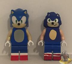 Lego Sonic Comparaison (AntMan3001) Tags: lego sonic hedgehog