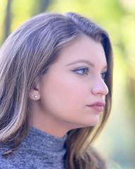 Cassidy...soft light (R.A. Killmer) Tags: seniorphotos senior soft light closeup face eyes beauty bethelpark portrait gaze headshot pose teen girl profile