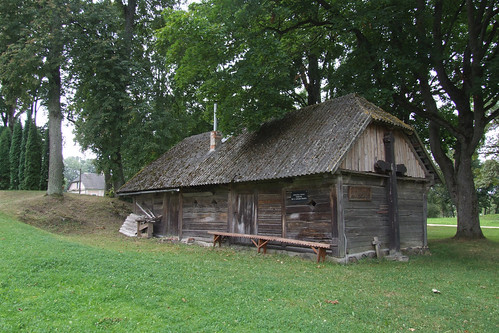 Oldest building in Pabiržė, 10.08.2013.