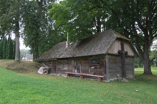 Oldest building in Pabiržė, 10.08.2013.