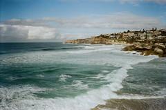 Sydney coast (jayolz) Tags: konicapop kodakproimage100 35mm konica beach surf landscape ishootfilm film kodak