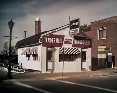 Tender-Maid (Pete Zarria) Tags: minnesota eat burger fries malt coke sign cafe diner small city pepsi cola