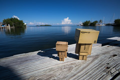 Enjoying the Keys. (Ed Swift) Tags: florida2016 danbo floridakeys efs1018mm canon florida 1018isstm ocean danboard gulfofmexico sea usa toys 7d2 keys revoltech america