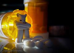 DSC03352 (IGypsyWoman) Tags: toyphotography toyart lukechueh addiction bear dcon2016 pills prescription