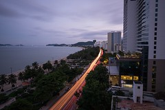 Nha Trang (billcoo) Tags: 16mm travel xt1 fujinon vietnam fuji fujifilm khanhhoa big night bw stopper filter long exposure 1000x hotel novotel