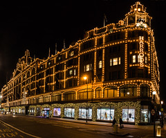 90/365v3 Harrods at Christmas (Mark Seton) Tags: harrods london knightsbridge lights christmas