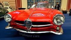 Alfa Romeo Giulietta Sprint Speciale (35mmMan) Tags: alexandra palace classic sports car show london alfa romeo alfaromeo giluietta sprint speciale bertone style italian alfared rossocorsa