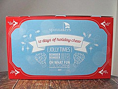 12 Days of Holiday Cheer (knightbefore_99) Tags: beer cerveza pivo tasty christmas present box advent calendar days cool spinnakers victoria bc 12 holiday cheer awes ome bomber