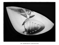 SLK280 Detail #3 (Godfrey DiGiorgi) Tags: colorskopar50mmf25 abstract automobile bw car detail shape slk280 stilllife santaclara california usa us