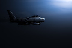 (vipmig) Tags: f86sabre usaf jet fighterjet fighteraircraft classicjet skywarrior nightphotography nikon aviation postprocessing aviationart aviationphotography aviationhistory aviator military militaryaviation militaryhistory militarymachine technology koreanwar moonlight aircraft airpower airforce