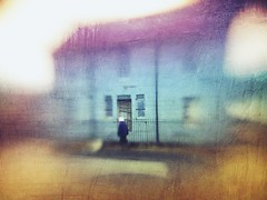 The Passer By (DefinitelyDreaming) Tags: mextures lbm10 lensbaby seeinanewway blur mobile iphone