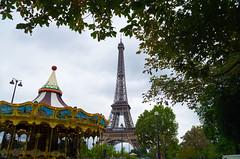 Paris 2016 (elizunseelie) Tags: paris france europe pentax k5 carousel fair ride eiffel tower landmark icon french iron