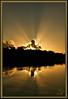 Just a sunrise!!! (WanaM3) Tags: wanam3 sony a700 sonya700 texas pasadena clearlakecity mudlake sunrise water reflection clouds nature canoeing paddling outdoors dawn sunlight rays