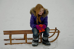 Portrait (Natali Antonovich) Tags: portrait winter christmas christmasholidays tradition childhood children mood smile sled sleding sledging relaxation snow frost lahulpe belgium belgique belgie