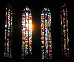 Notre-Dame Cathedral, Luxembourg (Wagsy Wheeler) Tags: luxembourg luxembourgcity notredamecathedral notredame cathedral cathédralenotredame cathédrale kathedralnotredame kathedral window windows stainedglass stainedglasswindow light church