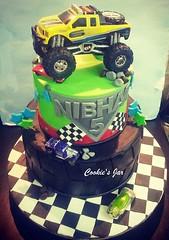 monster truck (virsingh77) Tags: cookiesjar cake boys kids monstertruck