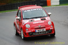 NHMC Cadwell Stages Rally 2016_0052_25-11-2016 (ladythorpe2) Tags: north humberside mc cadwell stages rally 2016 20th november 57 nick heard jack wright fiat abarth 500 services ltdmerlin international