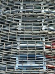 Torre Agbar (stillunusual) Tags: barcelona catalunya catalonia spain bcn torreagbar tower skyscraper avingudadiagonal streetphotography street city building architecture travel travelphotography travelphoto travelphotograph 2016