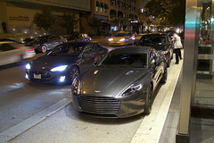 Rapide S (Hertj94 Photography) Tags: aston martin rapide s chicago illinois gold coast september 2016 canon t3