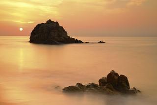 Amanecer en la Playa de la Roca Grossa II