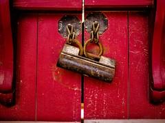 문 (Door) (haedonggang1) Tags: 빨강 red door 문 창덕궁 서울 가을