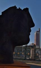 Profli in piazza Castello, Torino (Citt metropolitana di Torino) Tags: arte statue profili piazzacastello monumenti silhouette ombra torino piazza cancellata