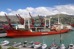 MV Italica (ambodavenz) Tags: mv italica boat ice cargo antarctic research vessel lyttelton port harbour canterbury new zealand