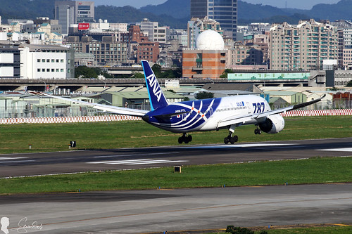 All Nippon Airways (ANA) Boeing 787-881 JA801A