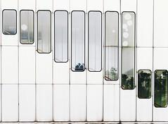Modern Vienna (desomnis) Tags: vienna wien austria sterreich architecture lines minimalist minimalistic street urban urbanlines station ubahn kaisermhlen glass stairs canon6d tamron2470mmf28 desomnis
