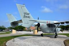 O-2A Skymaster, U. S. Air Force (67-21440), Joint Base San Antonio - Lackland Air Force Base, Texas (EC Leatherberry) Tags: cessnaaircraft o2askymaster staticdisplay observationaircraft military aircraft usairforce jointbasesanantonio lacklandairforcebase texas 1967 vietnamwar