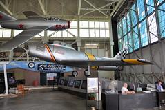 Mikoyan-Gurevich (PZL-Mielec) MiG-15bis (Lim-2) (NATO Reporting Name: Fagot) -  1524 and United States Air Force - North American F-86E Sabre - USAF 51-2841 - Nina II - Pacific Aviation Museum - Pearl Harbor - November 2, 2013 147 RT CRP (TVL1970) Tags: nikon nikond90 d90 nikongp1 gp1 geotagged nikkor18105mmvr 18105mmvr hawaii oahu pearlharbor fordisland pacificaviationmuseum hangar79 aviation aircraft airplane militaryaviation usaf512841 af512841 512841 cn172124 172124 ninaii unitedstatesairforce usairforce northamericanaviation naa northamericanf86sabre northamericanf86 f86sabre f86 sabrejet northamericansabre sabre northamericanf86esabre northamericanf86e f86esabre f86e f86e10na generalelectric ge generalelectricj47 gej47 j47 j47ge13 1524 cn1b01524 1b01524 siłypowietrzne silypowietrzne wojskalotniczeiobronypowietrznej polishairforce mikoyangurevich mig mikoyan pzlmielec mikoyangurevichmig15fagot mikoyangurevichmig15 mig15 fagot mikoyangurevichmig15bis mig15bis pzlmieleclim2 lim2 rollsroycenene rrnene nene klimov klimovvk1 vk1 lis2
