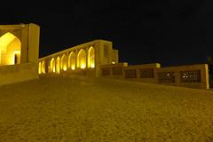 iran_015 (muddycyclist) Tags: panasonic lumix lx7 iran isfahan esfahan bridge night