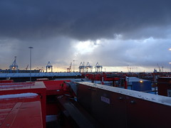 Looks nice... (stevenbrandist) Tags: portofliverpool container containerterminal